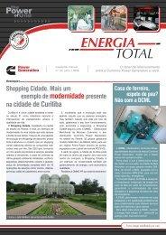 News Energia Total - Edição 13 - Cummins Power Generation