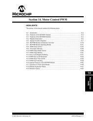 AN847 RC Model Aircraft Motor Control - Microchip