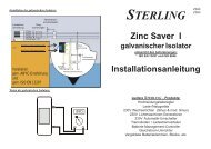 Galvanische Isolatoren - Sterling Power Products