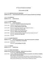 07 de setembro de 2008 - 66 Congresso Brasileiro de Cardiologia