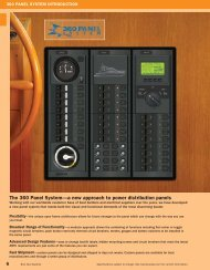 The 360 Panel System—a new approach to power distribution panels