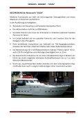 """VERKAUFS - ANGEBOT - """"SOLEA"""" Private Motoryacht  Typ ... - Boten - Page 2"""