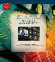 security management - Off-Campus Programs - George Washington ...