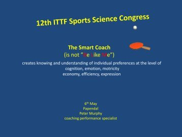 """The Smart Coach (is not """"Be Like Me"""") - ActionType"""