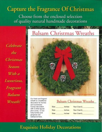 2013 Wreath Catalog - Troop 26, Bartlett, IL