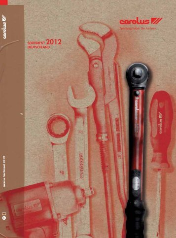 SORTIMENT 2012 DEUTSCHLAND