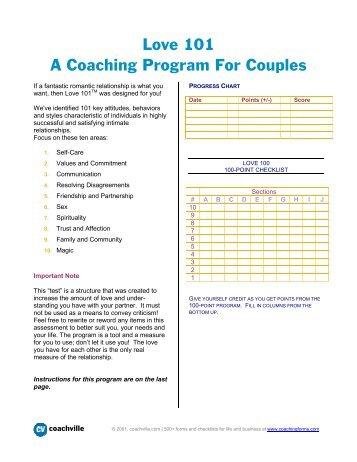 Love 101.pdf - CoachVille