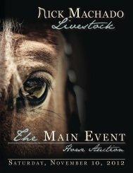 View the 2012 Sale Price catalog! - Rick Machado Livestock