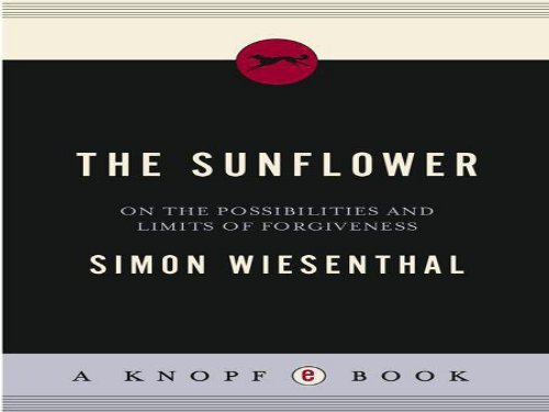 what does the sunflower mean to wiesenthal