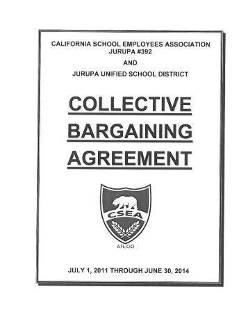 Afscme Collective Bargaining Agreement Changes 2012 2016 Pdf