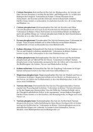 1. Calcium fluoratum (Kalziumfluorid) Das Salz des Bindegewebes ...
