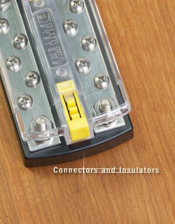 Connectors and Insulators