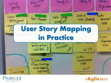 User Story Mapping in Practice - Agile Alliance