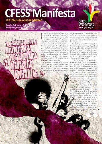 CFESS Manifesta Dia Internacional da Mulher