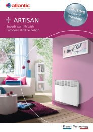 Atlantics Panel Heaters - Yellow Pages