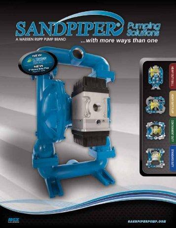SANDPIPER Product Brochure - AxFlow