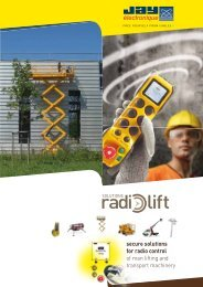 secure solutions for radio control of man lifting and transport ...