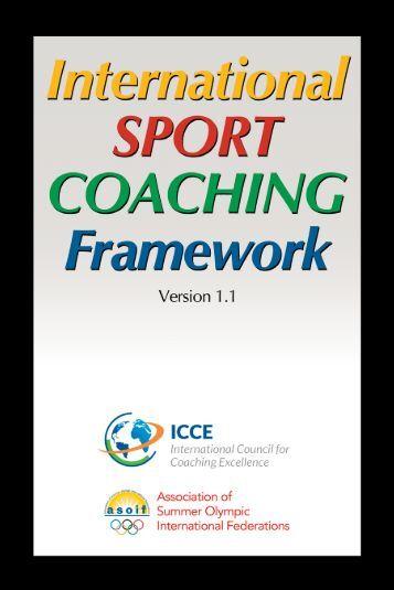 International Sport Coaching Framework – version 1.1