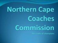 Northern Cape -PCC - HP
