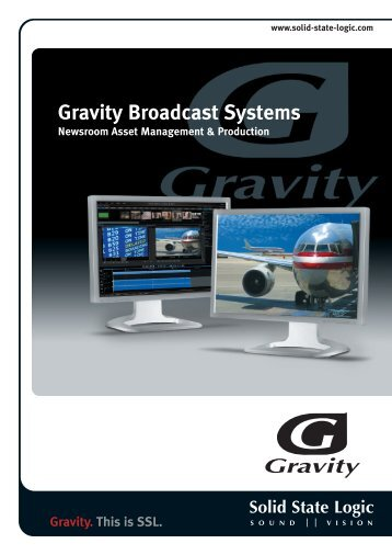 Gravity Broadcast Systems - Solid State Logic