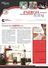 News Energia Total - Edição 15 - Cummins Power Generation