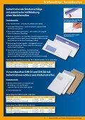 Selbstklebende Briefumschläge Mit Patentierter Haftklebung Ohne - Seite 3