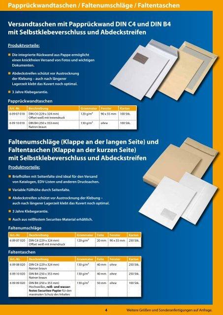 Selbstklebende Briefumschläge Mit Patentierter Haftklebung Ohne
