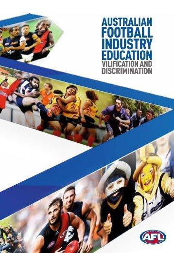 FOOTBALL INdUSTRy - AFL Community