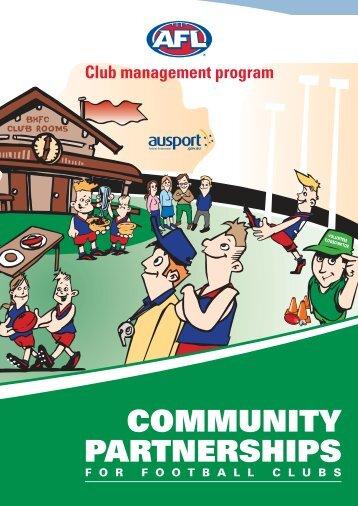 COMMUNITY PARTNERSHIPS - AFL Community