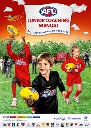JUNIOR COACHING MANUAL - AFL Community
