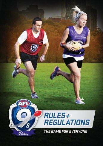 RULES + REGULATIONS - AFL Community