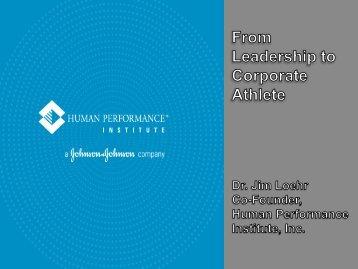 Energy - Institute of Coaching