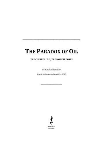 The-Paradox-of-Oil-Samuel-Alexander