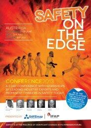 Conference Brochure and Registration Form - SAFEmap International