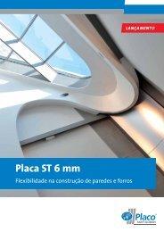 Placa ST 6 mm - Placo