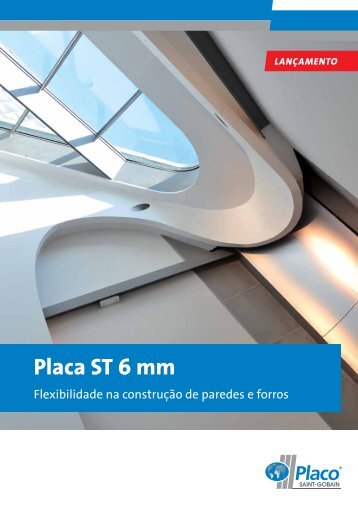 Placa ST 6 mm - Placo