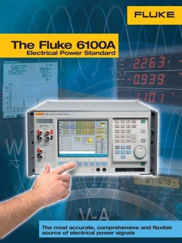 The Fluke 6100A