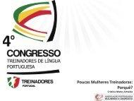Poucas Mulheres Treinadoras: Porquê? - Associação Portuguesa a ...