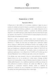 Proposta de Lei n.º 63/XII - Treinadores de Portugal