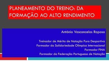 PLANEAMENTO DO TREINO: DA FORMAÇÃO AO ALTO ...