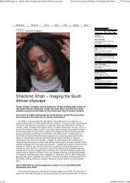 18. 2008 bildmuseet_english.pdf - Sharlene Khan
