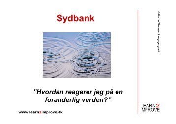 Sydbank - Learn2improve