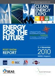 CEEA 2010 Post Show Report - Clean Energy Expo
