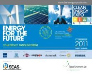 2011 - Clean Energy Expo