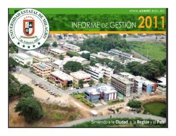 Informe de Gestión 2011 - Universidad Estatal de Milagro