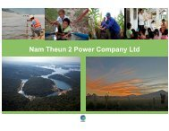 Nam Theun 2 Power Company Ltd - Clean Energy Expo
