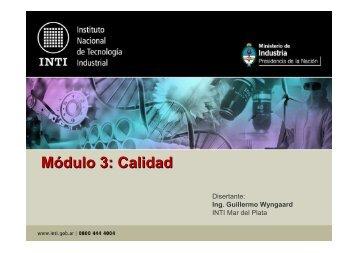 Módulo 3 - Calidad