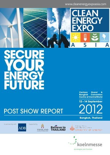CEEA12 A4 Post Show Report Web.pdf - Clean Energy Expo