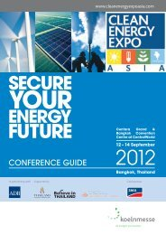 CONFERENCE GUIDE - Clean Energy Expo