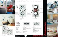 AIM LCR Brochure - SpeakerCraft